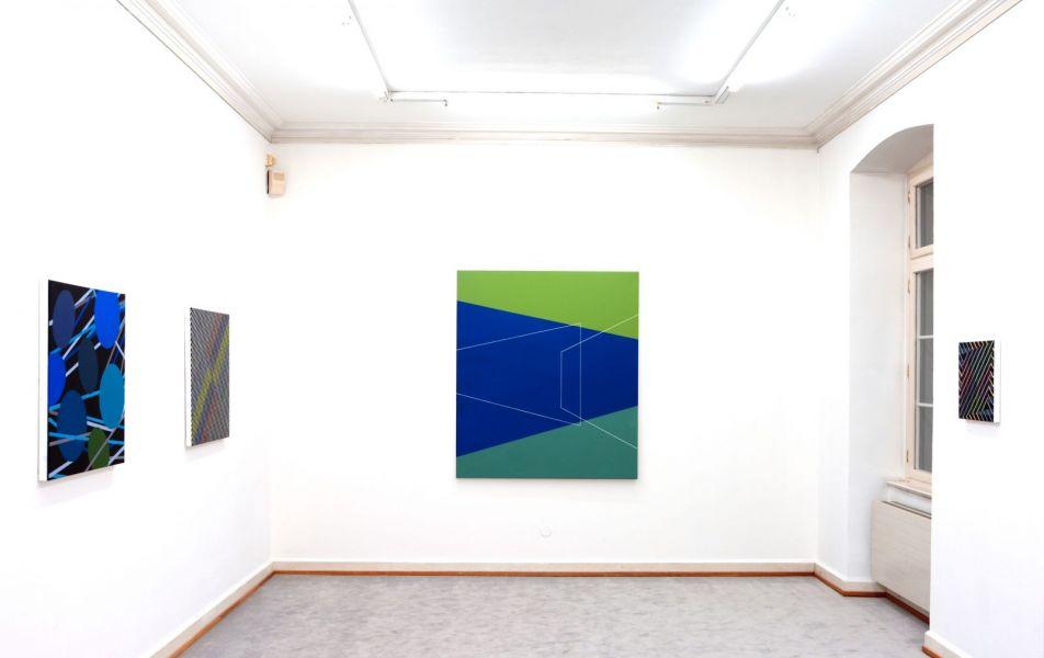 Konstellationen zwischen Linie und Raum-space-artworks