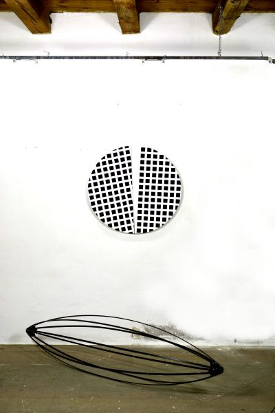eder-space-circular segments-manhattan-painting