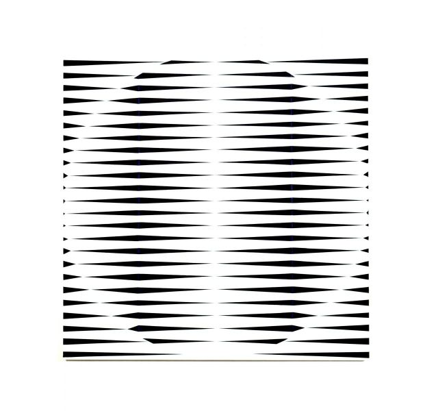 in space-white circle in white square-space-christian eder-vienna-painting